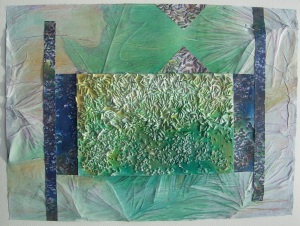 Organic Texture Collage