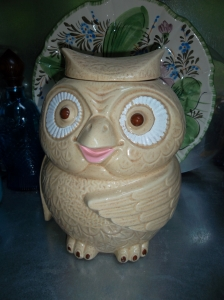 Owl Cookie Jar